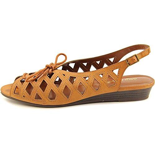Easy Street Tinker Damen US 7.5 Braun Breit Slingback Sandale