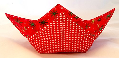 microwave-bowl-cozy-red-dots-stars