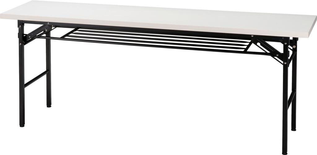 折脚ハイタイプ会議用テーブル1800×450ホワイト B00BERX15Y