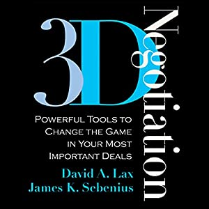 3-D Negotiation | Livre audio