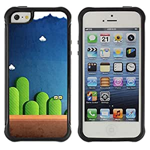SHIMIN CAO@ MARIO GAME Rugged Hybrid Armor Slim Protection Case Cover Shell For iphone 5S CASE Cover ,iphone 5 5S case,iphone5S plus cover ,Cases for iphone 5 5S