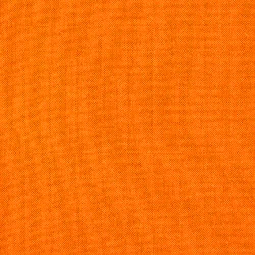 Kona Cotton Orange Fabric By The Yard (Kona Cotton Broadcloth)
