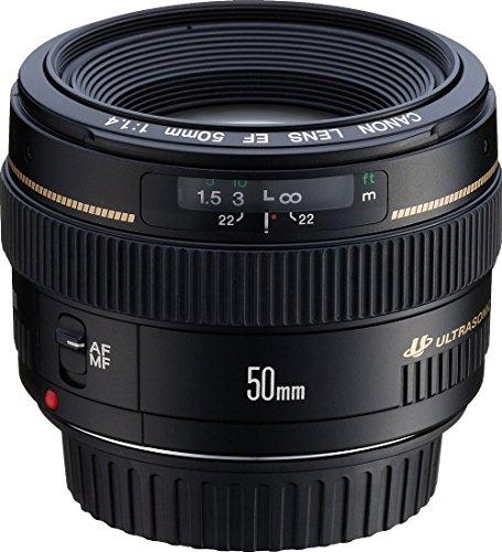 Canon EF 50 mm f /1,4 USM Teleobjetivo estándar y medio para cámaras Canon SLR - Corregido