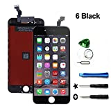 Screen Replacement LCD Touch Screen & LCD Display for iPhone 6 4.7 inch with Free Tools kit (Black)