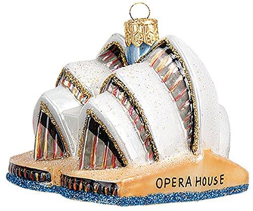 Pinnacle Peak Trading Company Sydney Opera House Australia Mini Polish Glass Christmas Ornament Decoration (Christmas Shop Australia)