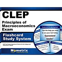 CLEP Principles of Macroeconomics Exam Flashcard Study System: CLEP Test Practice Questions & Review for the College...