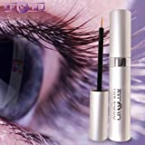 Pro-Nu New Eyelash Growth Serum 5ml - Made in USA - Eyelash Enhancer for Thicker, Fuller and Longer Eyelashes and Brows.