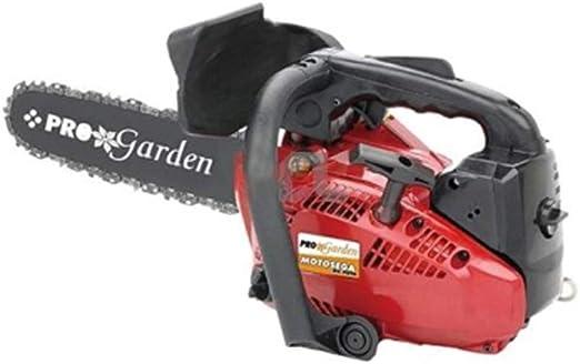 PRO GARDEN Motosierra de explosión 1, 2 HP 25 CC Hoja 25 cm potatuta pota jardín TM2500: Amazon.es: Jardín