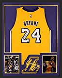 Kobe Bryant Autographed/Signed Los Angeles Lakers Framed Swingman Jersey