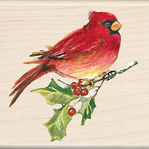 Inkadinkado Wood Stamp, Cardinal