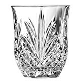 Broadway Crystal Cut Shot Glasses 1.75oz / 50ml - Case of 24 - Vintage Crystal Inspired Glasses from Arc