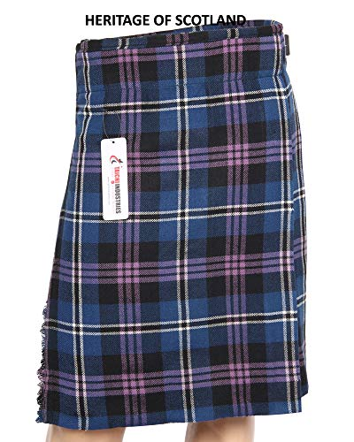 (Men's 5 Yard Tartan Kilt Wedding Kilt Scottish Kilts (40