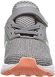adidas Performance Baby Duramo 9 Running Shoe, Grey Heather/Clear Mint/Granite, 7K M US Toddler