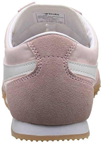 Gola Femmes Guêpe Mode Sneaker Cristal Rose / Blanc