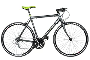28 Fitnessbike Viking Messina 4 Rahmengrößen, Farbe:grau/grün;Rahmengrösse:56 cm
