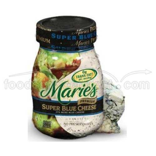 Ventura Foods Maries Premium Super Blue Cheese Dressing, 1 Gallon -- 2 per case.