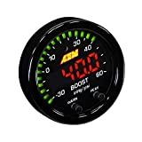 AEM 30-0308 X-SERIES HIGH 52MM LED BOOST PRESSURE