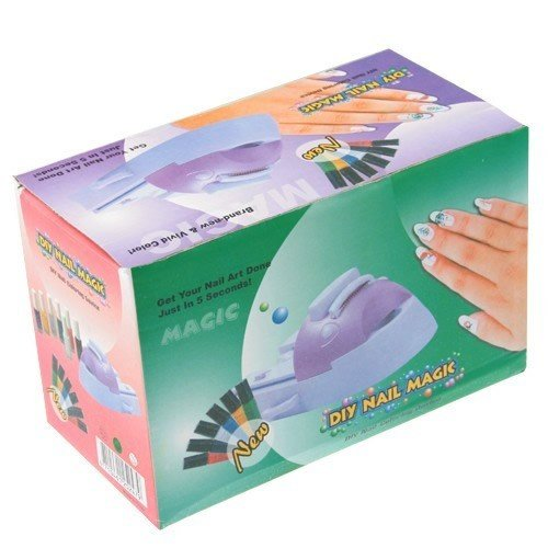 Nail Art Color Stamping Machine - Design Coloring Beauty Kit for Home Use by U-Style® Home Care Wholesale GCM-260