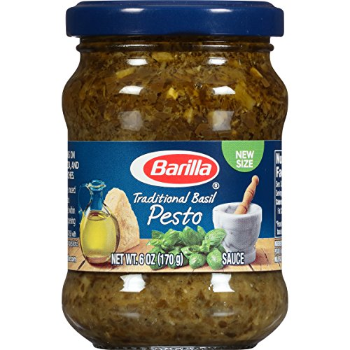 (Barilla Traditional Basil Pesto Sauce, 6 Ounce (Pack of 8))