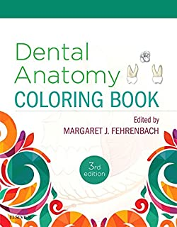 Dental Anatomy Coloring Book, 2e: 0001455745898: Medicine & Health ...