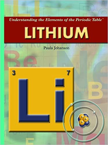 Lithium Understanding The Elements Of The Periodic Table Paula