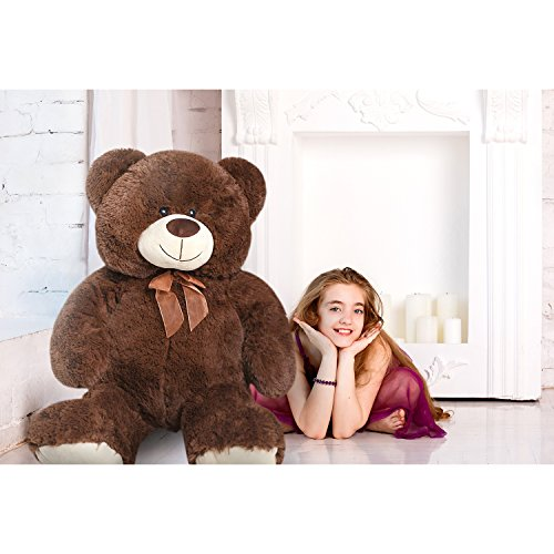 HollyHOME Teddy Bear Plush Giant Teddy Bears Stuffed Animals Teddy Bear Love 36 inch Brown - Giant Plush Bear