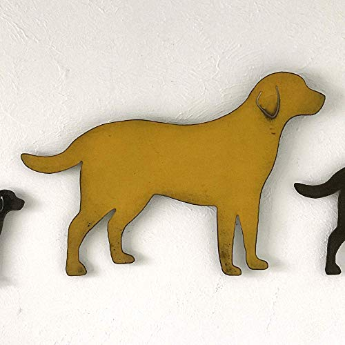 Labrador Retriever - Metal Wall Art home decor - Handmade - Choose 11