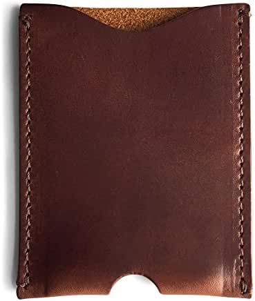 Front Pocket Wallet Card Holder Made of Full Grain Leather by Jackson Wayne