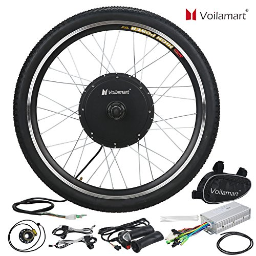 US Stock 48V Front Wheel Electric Bicycle Motor Conversion Kit 1000W E Bike Cycling - Diy Fender Bike