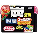 冷蔵庫・野菜室用脱臭剤ゲル240g(1個)【お取寄せ品】【業務用】