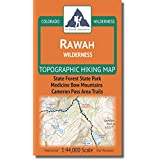 Rawah Wilderness - Colorado Topographic Hiking Map (2018)