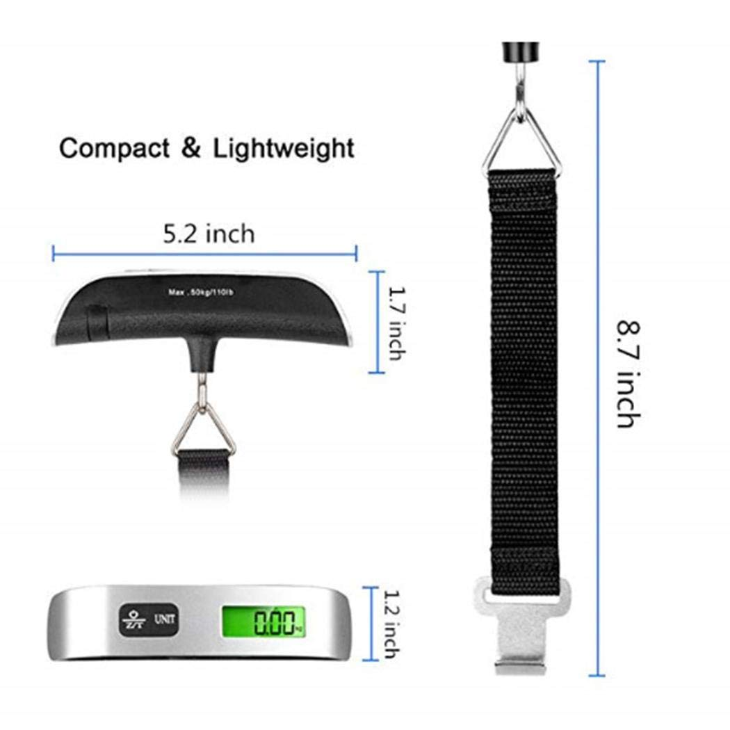 Wumedy Digital Hanging Luggage Scale Portable Multi-function Luggage Scales by wumedy