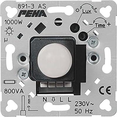 Peha automático-interruptor D 891-3 AS O.A, 110 G relé versión equipos electrónicos/luz sensor de movimiento para la gestión de elemento base 4010105991192: Amazon.es: Hogar