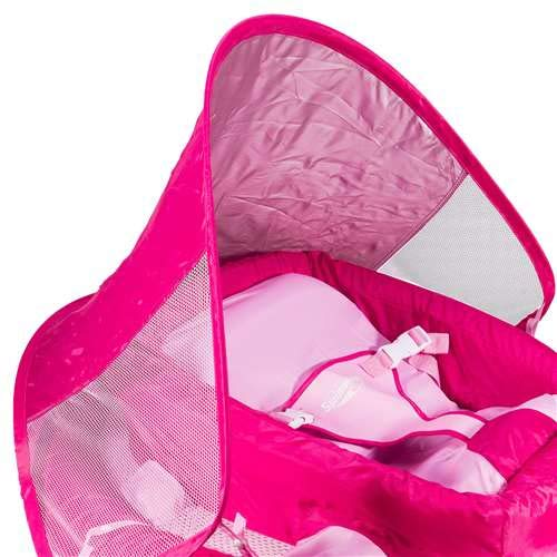 SwimWays Infant Baby Spring Float, Pink by SwimWays (Image #3)