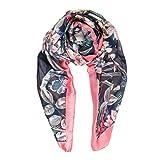 Scarf for Women: Lightweight Silk Feel Spring Winter Oblong Fashion Scarves Shawl by Melifluos (FP12-3)