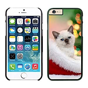 taoyix diy Design for Mass Customization Christmas Cat In Hat Iphone 6 Cover Case For Iphone 6 4.7 Inch