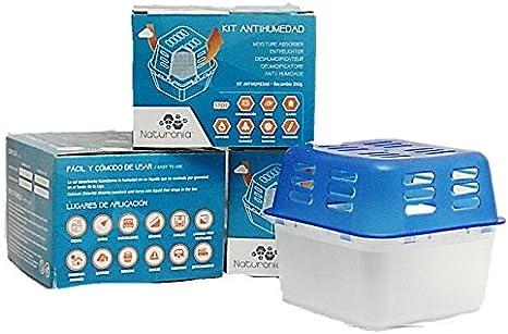 Naturonia Dispositivo con Recambio Antihumedad CLASIC, 250g: Amazon.es: Hogar