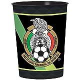 12 Seleccion Nacional De Mexico Soccer 16 oz Plastic Favor Cup Party Supplies