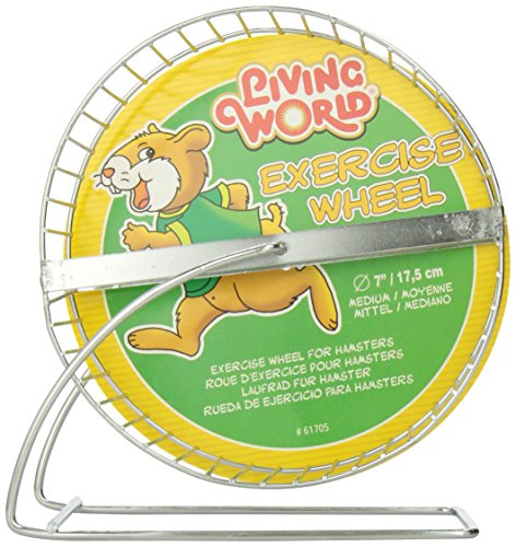 Living World Exercise Ball (Living World Chrome Plated Hamster Wheel, 7-Inch)