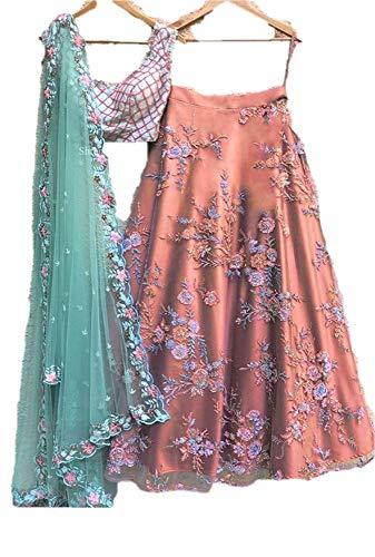 REKHA Ethnic Lehenga Choli Indian Women Designer Partywear Ethnic Traditional Lehenga Choli Wedding Wear Lehenga 810 Pink