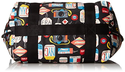 on LeSportsac Travel Carta Large d'imbarco the Go qPHp8