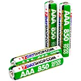 """7dayshop """"GOOD TO GO"""" AAA Pre Charged NiMh Rechargeable Batteries 850mAh 4 Pack"""