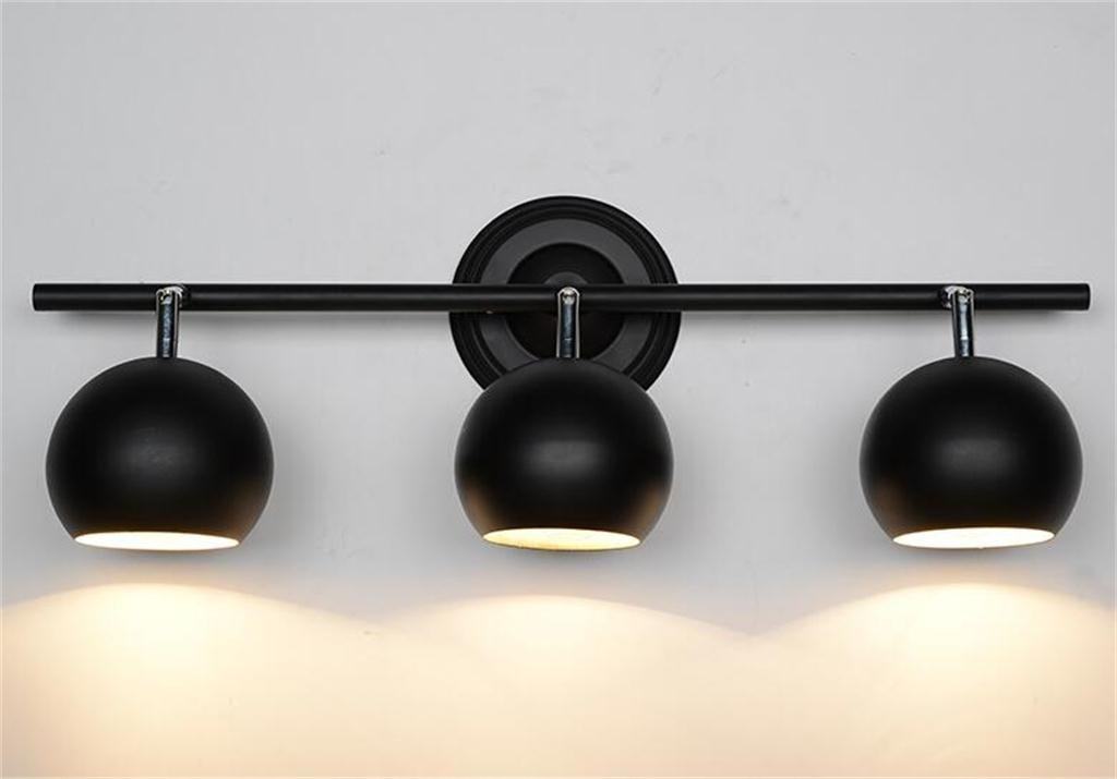 HOMEE Wall lamp- continental clothing backdrop lights led track wall --wall lighting decorations ( style : 2 ),3 by HOMEE