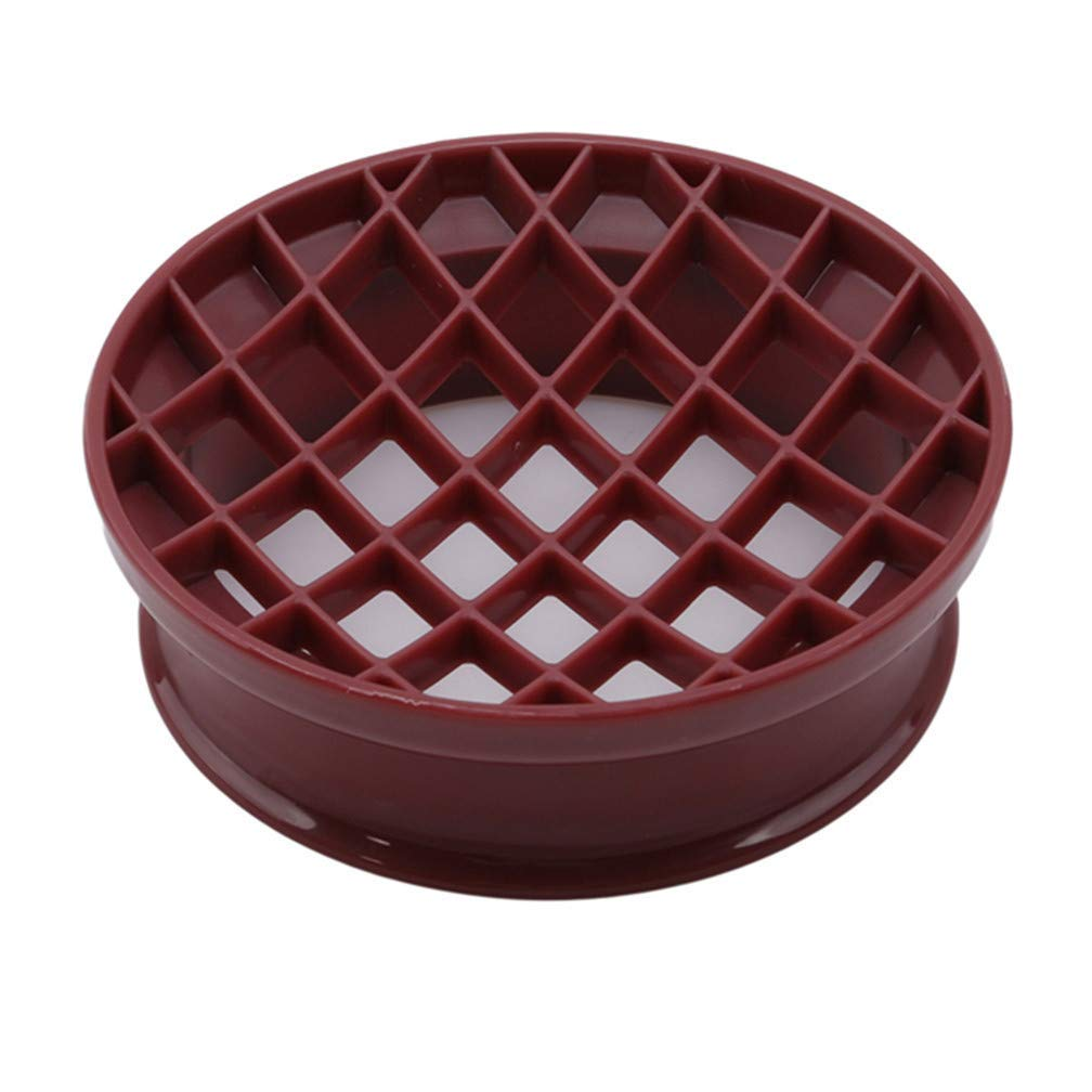 Tcplyn Premium Quality Lattice Press Pineapple Bun Mold Plastic Bread Cake Mould Biscuit Stamp Moulds Kitchen Pastry Baking Tools
