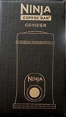 Ninja Coffee Bar Stainless Steel Safety Lock Push-Button Bean Grinder | SP7407