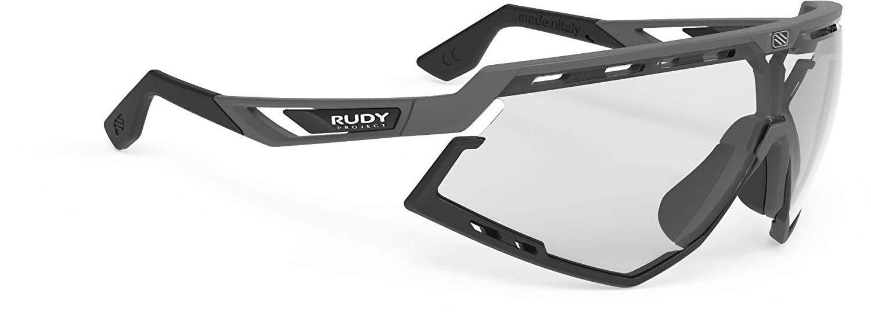 ルディプロジェクト(RUDYPROJECT) スポーツサングラス ロードバイク 自転車 ディフェンダー ピヨンボマットフレーム バンパーブラック インパクトX2調光ブラックレンズ SP527375-0000 SP527375-0000