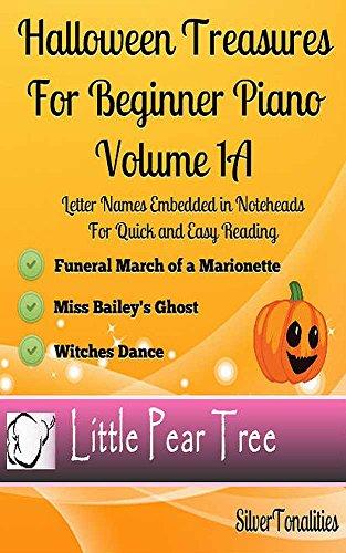 Halloween Treasures for Beginner Piano Volume 1 A