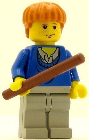 LEGO Harry Potter Minifig Ron Weasley Blue Sweater: Amazon.es ...