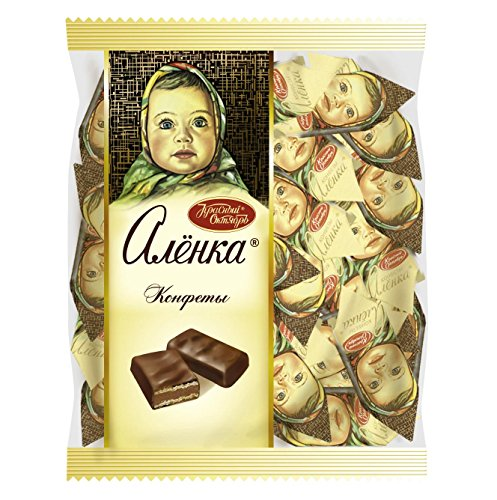 Price comparison product image Russian Chocolate Candies Alenka with waffle 500g
