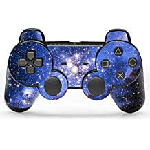 Skin Sticker Decal Cover for PS3 Playstation Controller Blue Starry Design